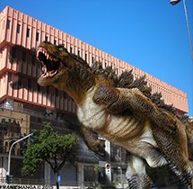 Foto Digitale Dinosauro a Messina di Frank Manga